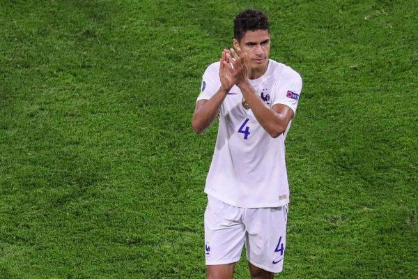 Romano updates on Rafael Varane's move to Manchester United.