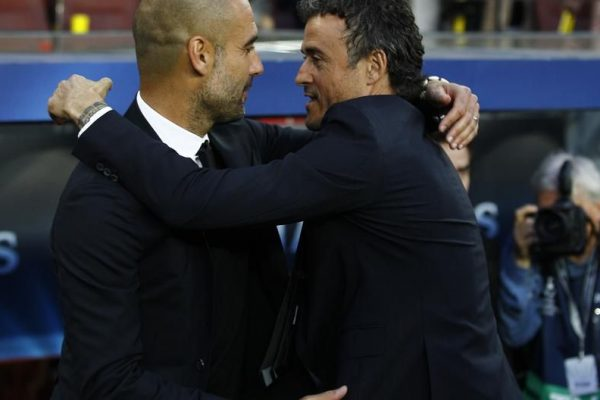 Luis Enrique Martinez has hailed Pep Guardiola as the perfect man to coach the Spain national team.
